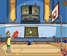 لعبة كرة السلة للشباب