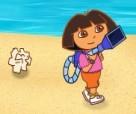 دورا العاب تنظيف الشاطئ
