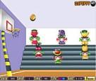 العاب كرة السلة مبارات