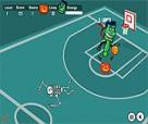 العاب كرة السلة لاعبين