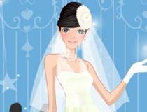 لعبة تلبيس العروسة السعيدة